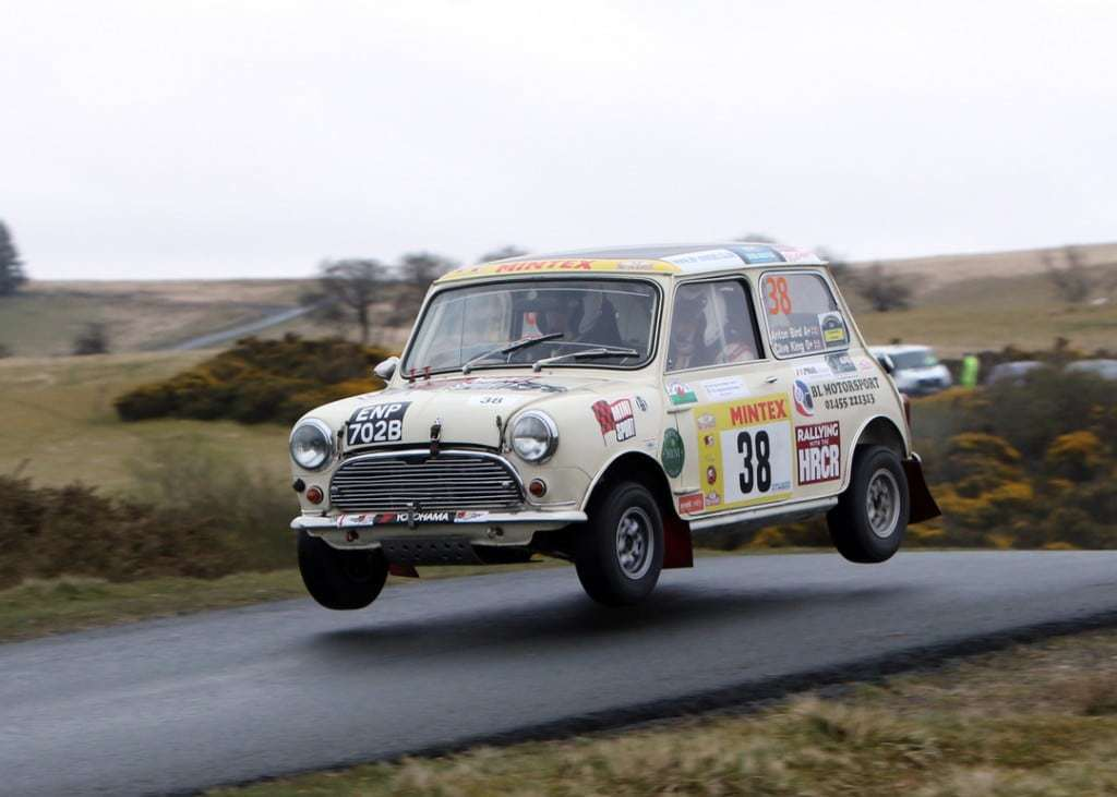 Rally car Gallery Dixies Challenge